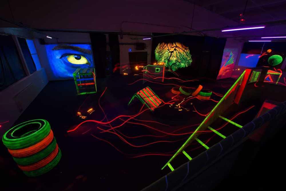 istoria jocului laser tag