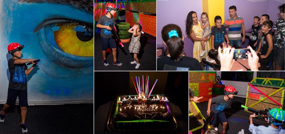 petreceri laser tag pentru copii