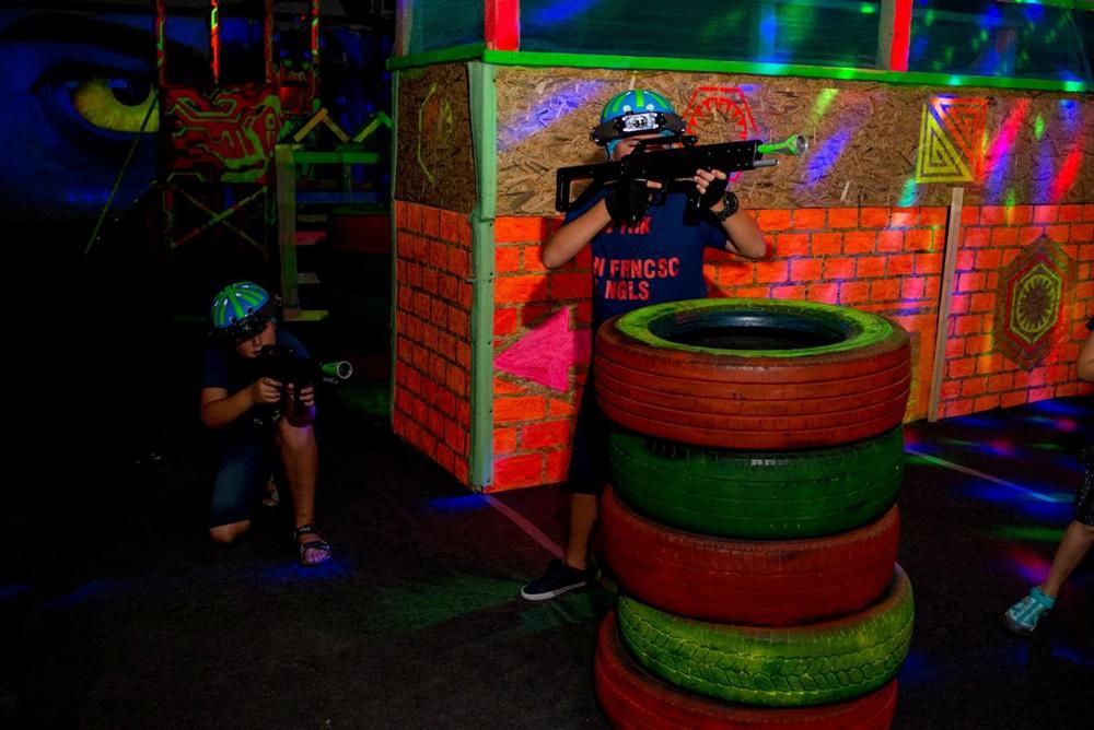 strategia de echipa in laser tag