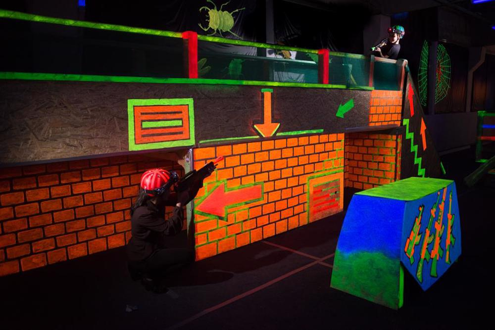 stratergii laser tag